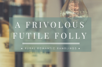 A frivolous Futile Folly - flash fiction piece by Mel A ROWE