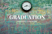 graduating - school - chalkboard - clock - passage of time - R&RRamblings blog - MelAROWE.com