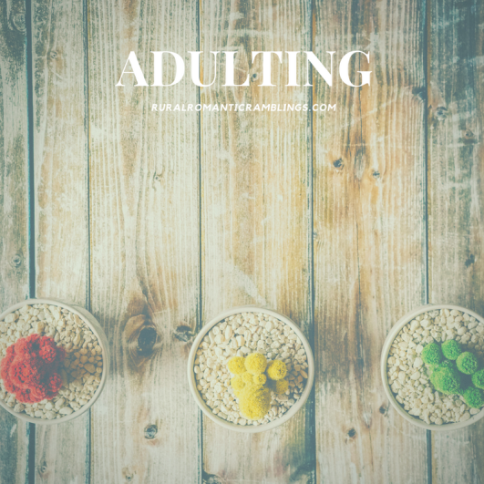 Adulting - R&R Ramblings