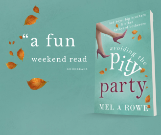 goodreads review for avoiding The Pity Party by mel A ROWe