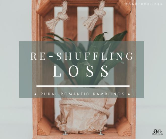 Re-Shuffling Loss - poem by mel A ROWE